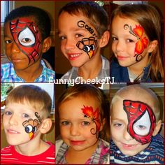 Face painting by FunnyCheeksTJ Dallas Face Painter