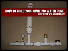 If you have a creek, river or branch on your property then this is an excellent addition to your preps. This water pump needs no energy input other than water flowing from a higher point to a lower point, so if the grid goes down you will still be able to pump water from your … Continue reading »