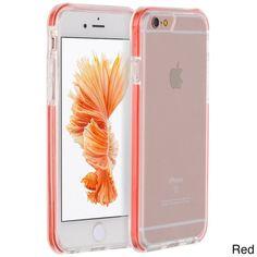 Apple iPhone 6 Plus/6S Plus 5.5-inch Invisible Bumper Ultra Thin Hybrid Case #PH-TCAIP6SL-IVB