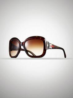 Deco Square-Frame Sunglasses - Sunglasses  Women - RalphLauren.com
