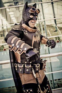 This is a pretty awesome #steampunk Batman! #batman