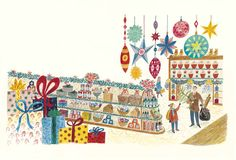 """""""Could I Have It?"""" by Emily Sutton from the book """"The Christmas Eve Tree"""" by Delia Huddy"""