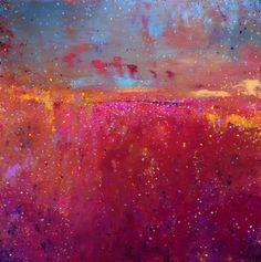 Questo è un dipinto astratto acrilico, dipinto da me recentemente. La tela dimensioni 61 x 61 cm con bordi profondo 32mm. I bordi sono