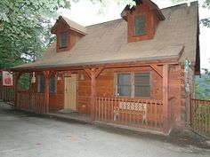 Gatlinburg cabin rental - Ginger's Gem! David and I are staying here in May 2013!