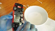 How to Clean Corroded Battery Terminals in Toys