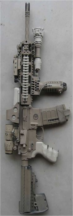 Build Your Dream Custom Assault Rifle – Custom AR. Build Your Sick Custom Assault Rifle Firearm With This Web Interactive Firearm Gun Builder with ALL the Industry Parts - See it yourself before you buy any parts Weapons Guns, Airsoft Guns, Guns And Ammo, Custom Ar, Custom Guns, Ar15, Assault Rifle, Cool Guns, Military Weapons