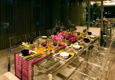 Invisible Table #event #decoración #mesa