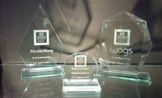#SBS Awards available from Welsh Royal Crystal. Awards for businesses given the nod of approval from Theo Paphitis!