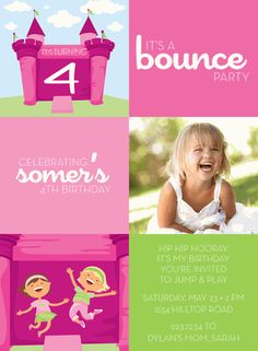 invite bounce party