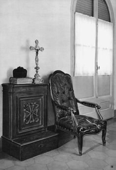 Sillón de Don Bosco