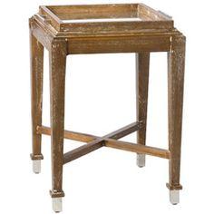 Barbara Cosgrove X-Service White Wash Side Table BC266