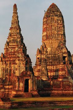 wat chaiwatthanaram : ayutthaya