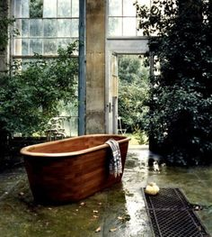 Beautiful surroundings for a bathroom---10 The Most Cool And Wacky Bathrooms Ever   DigsDigs