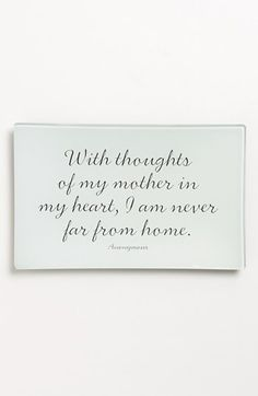 Ben's Garden 'With Thoughts of My Mother' Trinket Tray available at #Nordstrom