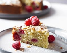 Bakewell Cake - Rachel Allen's simple recipe mixes raspberries, almond and cream for a divine taste combo Food Cakes, Cupcake Cakes, Cupcakes, Baking Recipes, Cake Recipes, Dessert Recipes, Rhubarb Upside Down Cake, Bakewell Cake, Basque Cake
