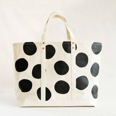 Polka Dot Coal Bag by Stanley & Sons at General Store