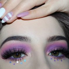 Unicorn Makeup: 50 cute ideas and tutorials to do at home . - Maquiagem de unicórnio: 50 ideias fofas e tutoriais para fazer em casa Unicorn Makeup: 50 Cute Ideas and Tutorials to Make at Home Makeup Goals, Makeup Inspo, Makeup Tips, Beauty Makeup, Makeup Tutorials, Makeup Hacks, Makeup Ideas, Eye Makeup Art, Makeup Style