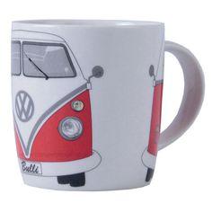 Campervan Gift - Official VW Red Campervan Mug, £8.95 (http://www.campervangift.co.uk/official-vw-red-campervan-mug/)
