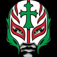 Rey mysterio mask coloring for kobe lj pinterest for Rey mysterio mask coloring pages