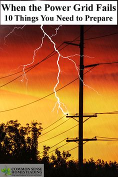 When the Power Grid Fails – 10 Things You Need to Prepare --Posted January 16, 2016 by Laurie Neverman