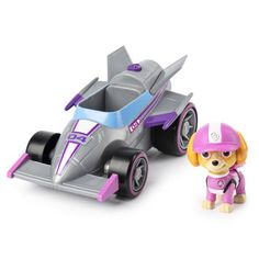 Paw Patrol Ready Race Rescue Deluxe Vehicle - Skye in One Colour Paw Patrol Toys, Water Drawing, Learning Toys, Imaginative Play, Age 3, One Color, Packaging, Doodles, Vehicles