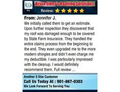 We initially called them to get an estimate. Upon further inspection they discovered that...