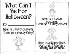 What-Can-I-Be-For-Halloween-A-Reader-Labeling-Adjectives-Writing-940437 Teaching Resources - TeachersPayTeachers.com