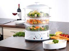 10-częściowy zestaw do gotowania na parze pozwoli zachować smak, witaminy i składniki odżywcze Twoich potraw.  #dom #gotowanie #fit