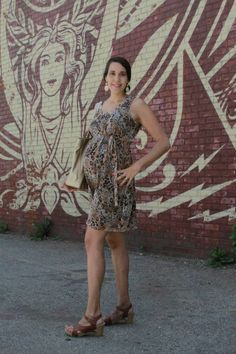 Monday Mingle on Momtrends - Animal Print Maternity Fashions - http://www.momtrends.com/2014/08/monday-mingle-fun-with-animal-patterns/