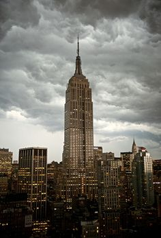The Empire State, second-tallest building in NYC