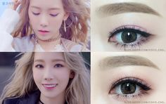 Girls' Generation Taeyeon SOLO ALBUM 'I' Kpop Idol Eye Make Up Tutorial  안녕하새오 코코초에오! 이번에 새로 나온 태연 솔로곡 I 뮤비 아이메이크업을 카피 해 보았어오.. 10월 9...