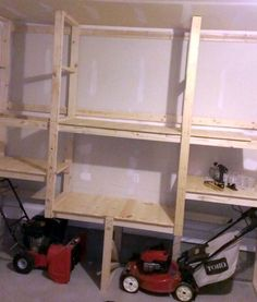 Within the previous ten years that unfavorable view of the garage has changed considerably. Climatizing the garage has actually ended up being much more than an afterthought. Garage Organization Tips, Garage Storage Solutions, Shed Storage, Storage Ideas, Tool Storage, Storage Shelves, Storage Cabinets, Garage Shed, Garage Tools