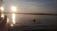 iltapulahdus - Swiming at Lohja Lake
