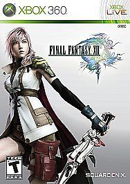 Final Fantasy XIII - Square Enix Xbox 360 Game Used Very Good Condition