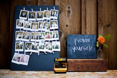 DIY Photo Booth - I like! simple, retro, cool!