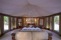 """A Guide to """"Glamping"""" Around the World: Banyan Tree Madivaru, Madivaru, Maldives Camping Glamping, Luxury Camping, Glam Camping, Camping Resort, Cabin Tent, Luxury Tents, Trekking, Campers, Gazebo"""
