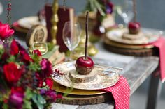Autumn Apple Place Setting