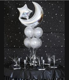 moon centerpieces - Google Search
