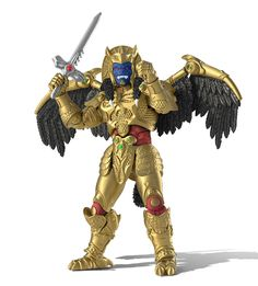 Power Rangers Lightning Collection - Mighty Morphin Goldar - Only at GameStop for Collectibles Power Rangers Shirt, New Power Rangers, Power Rangers Toys, Power Rangers Ninja Steel, Mighty Morphin Power Rangers, Devon, Power Rangers Action Figures, Power Ranger Birthday, Ralph Mcquarrie