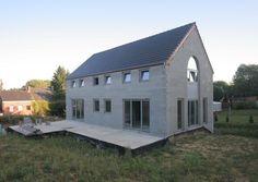 Global Construct: Passief met betonmetselstenen / FEBE en BELBLOCK