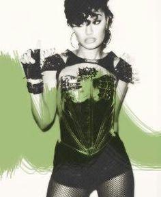 Image via We Heart It https://weheartit.com/entry/148683503 #edited #green #sexy #superheroine #leigh-annepinnock #littlemix