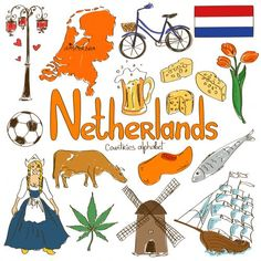 Help your child learn all about the geography and culture of the Netherlands with this 'N' is for Netherlands alphabetical countries free
