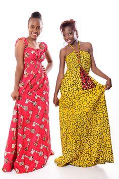 kitenge maxi dresses