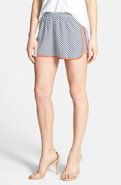 Ace Delivery Sailboat Print Dolphin Shorts available at #Nordstrom