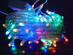 Twinkle Starry LED Party Decorative color changing String lights with 8 modes by Kohars. 10m 100 LEDs Multi color. Ideal for Wedding Xmas Halloween Diwali Christmas Outdoor Indoor Decorative lights. ** You can find more details by visiting the image link.