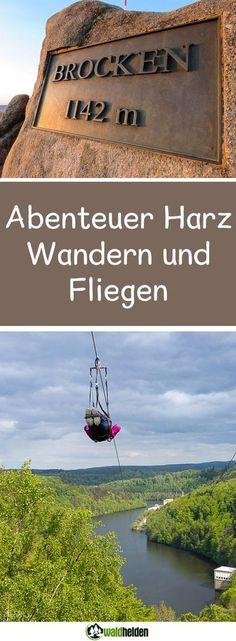Wandern, Geocachen und Fliegen – das ist der wilde Harz im Herzen Deutschlands. Ganze drei Bundesländer – nämlich Thüringen, Sachsen-Anhalt und Niedersachsen – teilen sich dieses Mittelgebirge.