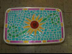 Mesa mosaico girasol