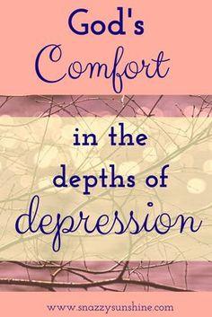 God's Comfort in the Depths of Depression
