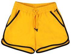 Yellow girls short by Frankie & Liberty. Short Girls, Liberty, Kids Fashion, Gym Shorts Womens, Yellow, Summer, Shopping, Political Freedom, Summer Time