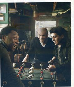 Pele, Maradona, and Zidane in one room. one word CLASS Soccer Stars, Football Soccer, Last Action Hero, Its A Mans World, Zinedine Zidane, Sports Figures, Soccer Players, The Dreamers, It Movie Cast
